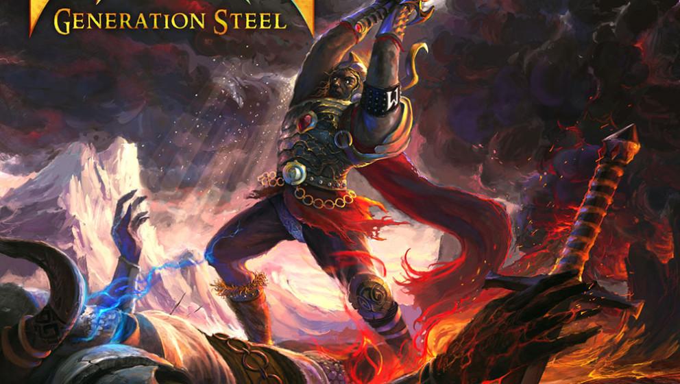 Majesty - GENERATION STEEL  Härter geht immer: Mit GENERATION STEEL haben die True-Metaller Majesty mal wieder so eine richt