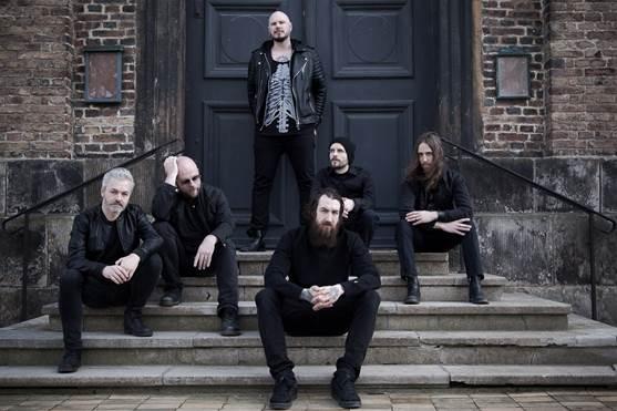 Soilwork mit neuem Bassist Markus Wibom.