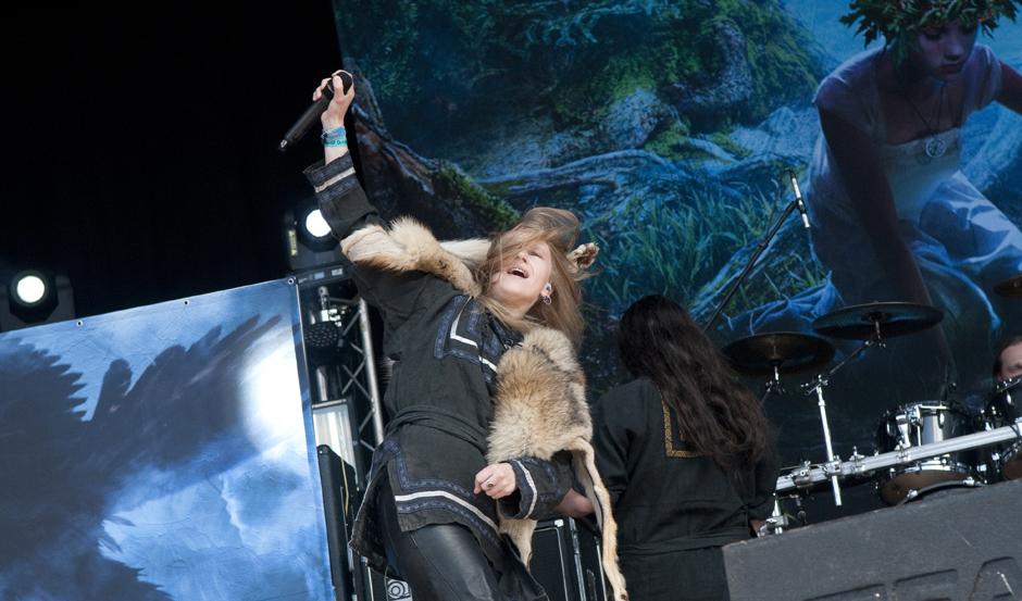 Arkona live, Out & Loud Festival 2014 in Geiselwind