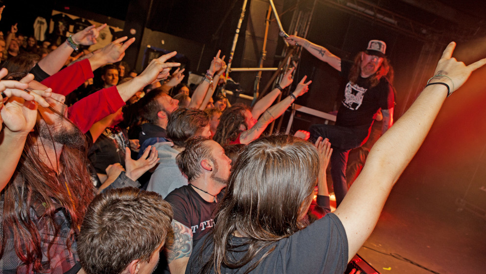 At The Gates live 2014, Leipzig