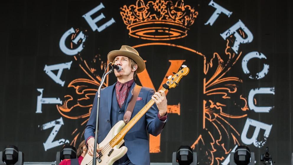 Vintage Trouble live, Zeppelinfeld Nürnberg, 08. Mai 2015