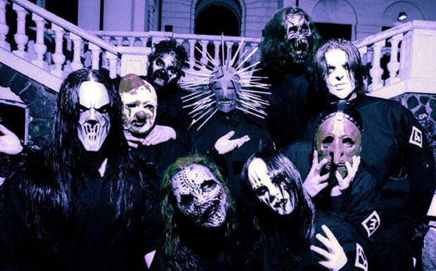 Slipknot zur Zeit ihres dritten Studioalbums VOL. 3: THE SUBLIMINAL VERSES