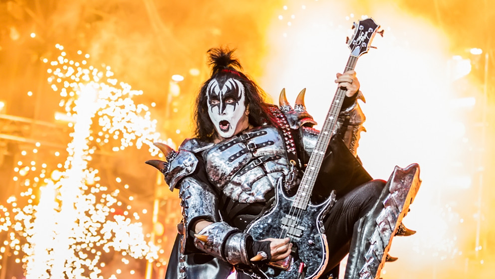 Kiss -Bassist Gene Simmons