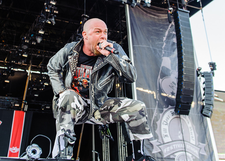 Five Finger Death Punch, Sweden Rock 2015