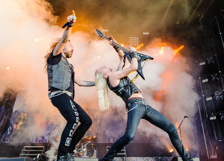 Hammerfall, Sweden Rock 2015