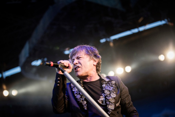 The English heavy metal band Iron Maiden performs a live concert at the Scandinavian heavy metal festival Copenhell in Copenh