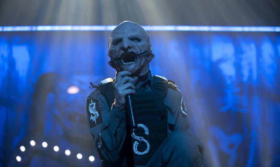 Corey Taylor with Slipknot live, 08.02.2015, Hamburg