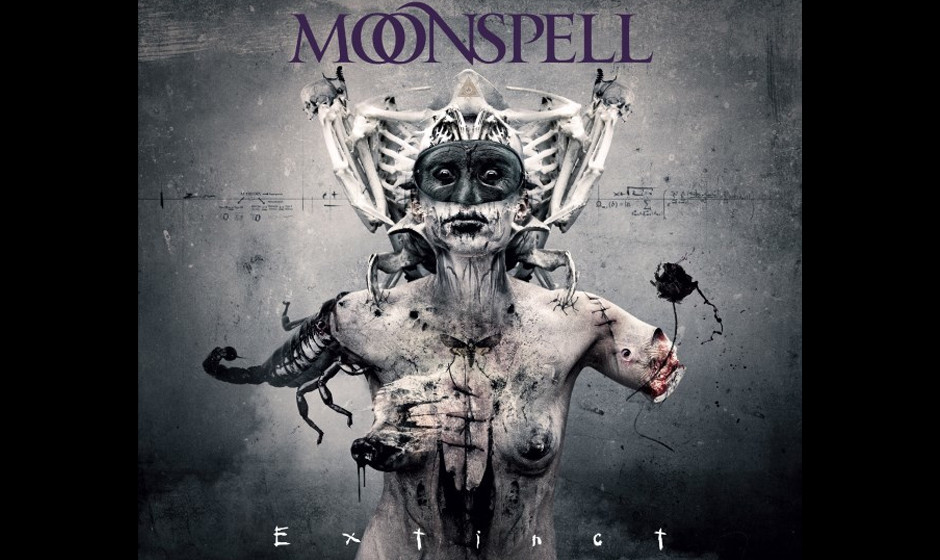 Fieses Cover, starke Platte: Moonspell legen mit EXTINCT einen richtigen Dark Metal-Hammer vor, der die Redaktion im Sturm er