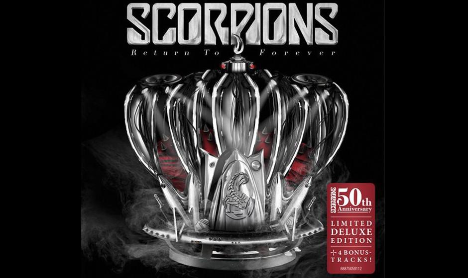 Was steht da auf dem Cover-Aufkleber? 50(?!) Jahre Scorpions? Die Redaktion fühlt sich angesichts dieser Zeitspanne nicht un