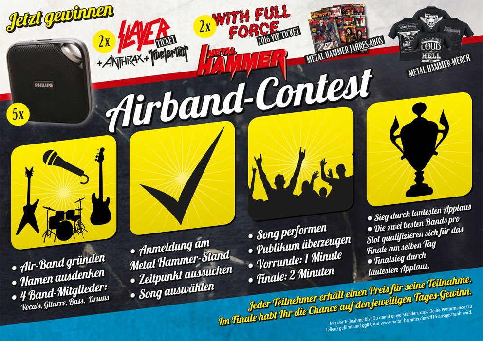 METAL HAMMER Airband How-To