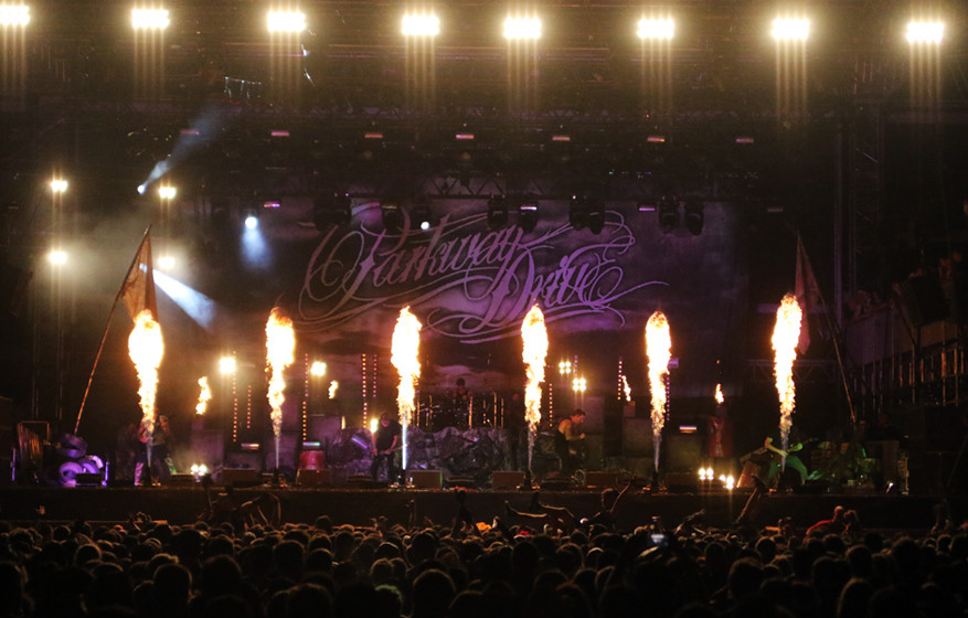 Parkway Drive, With Full Force 2015