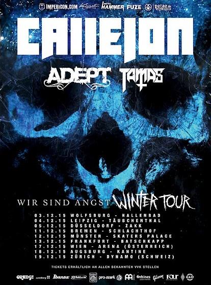 Callejon WIR SIND ANGST Winter-Tour