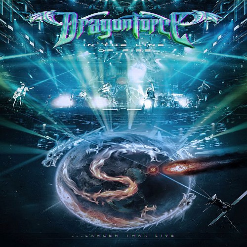 Dragonforce IN THE LINE OF FIRE DVD