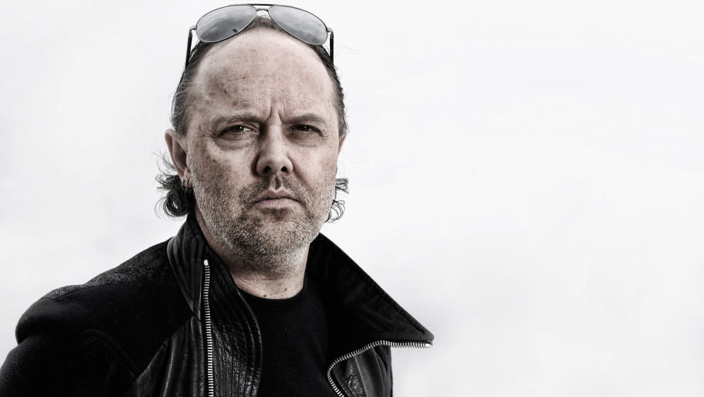 CANNES, FRANCE - MAY 16:  (EDITORS NOTE: This image has been digitally altered) Lars Ulrich of Metallica during a portrait se