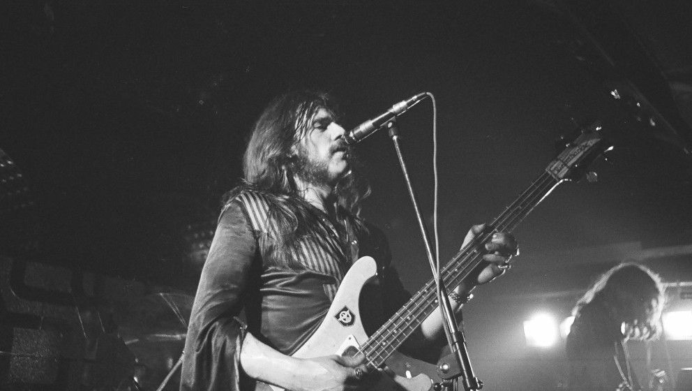 UNITED KINGDOM - JANUARY 01:  Photo of LEMMY and MOTORHEAD; Ian 'Lemmy' Kilmister performing on stage at the Electric Circus