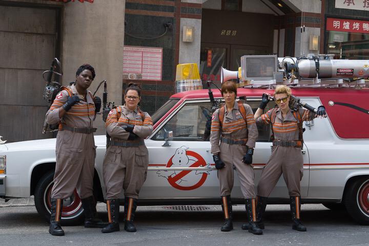 Ghostbusters Reboot 2016