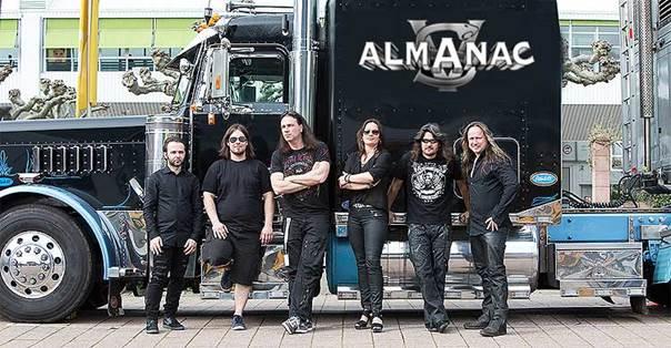 Die Band Almanac um den ehamaligen Rage-Gitarristen Victor Smolski