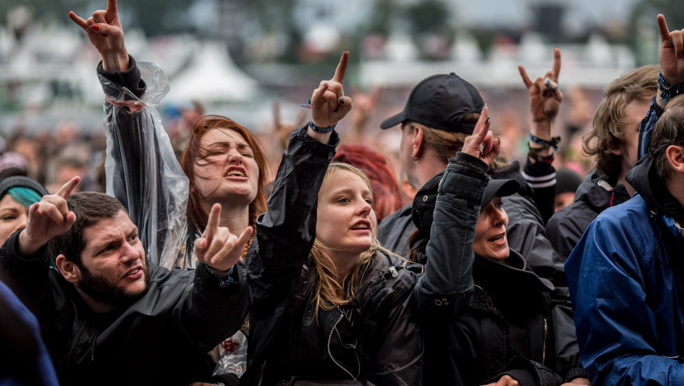 Wacken, Deutschland 30.07. - 01.08.2015: Wacken Open Air - WAO - 2015  Wacken 2015 trotz Schlamm und heftigem Regen halten di