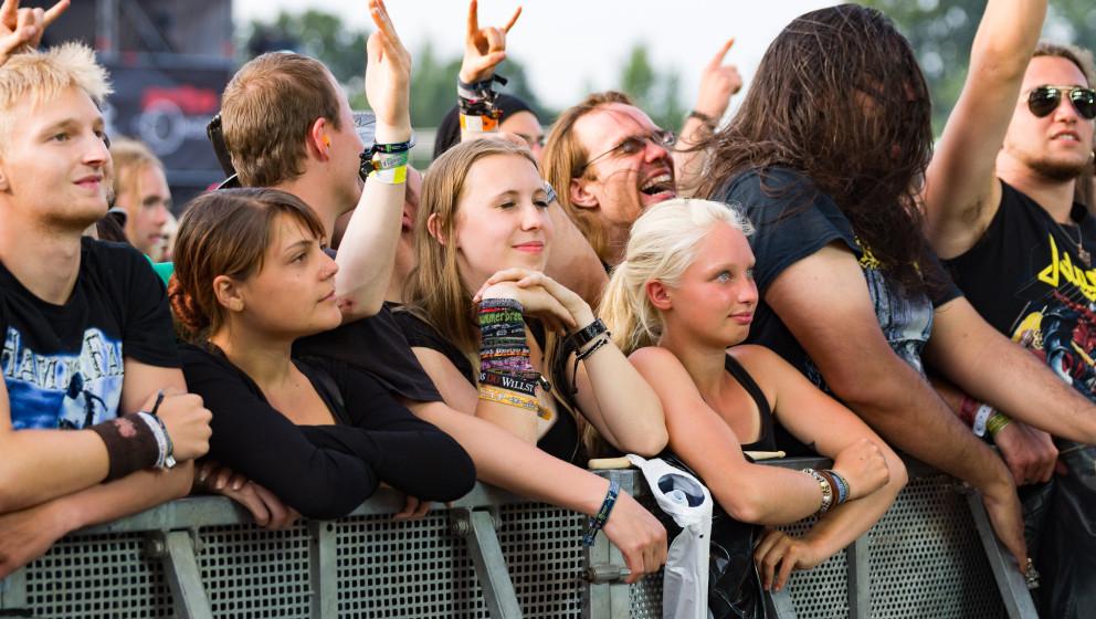 W.O.A 2015 Wacken Open Air Festival am 01.08.15 mit  Bloodbath