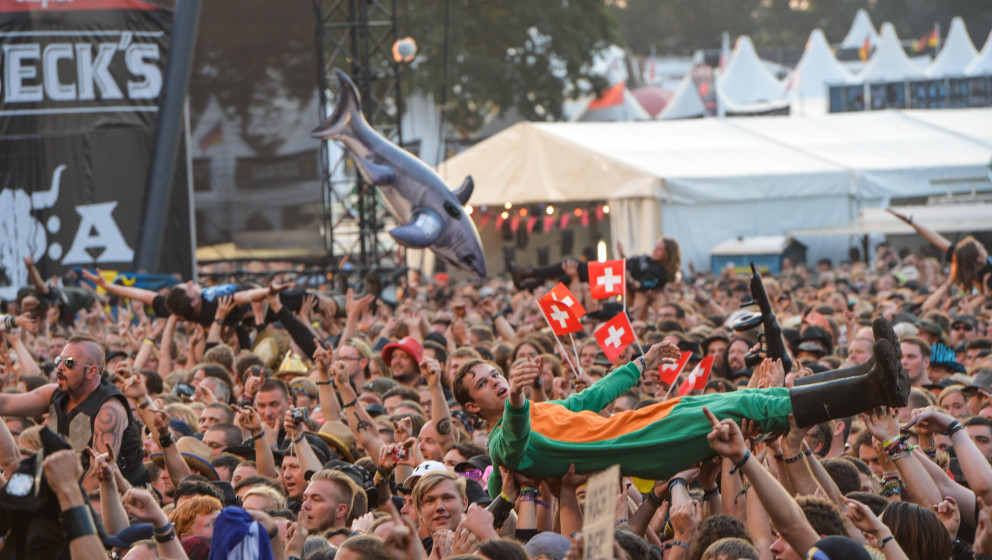 Sabaton in concert at 26th Wacken Open Air festival in Wacken, Germany on August 1st 2015 photo : Julien Reynaud/APS-Medias/A