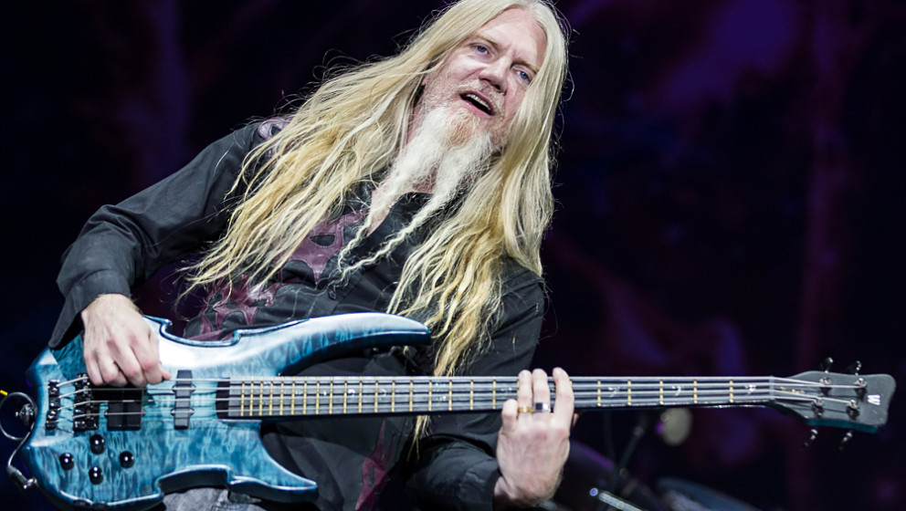 Marco Hietala mit Nightwish auf dem Summer Breeze 2015