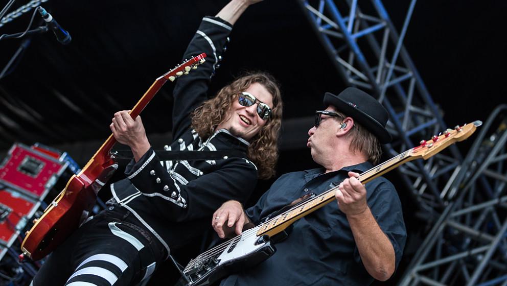 Dr Woo's Rock'n'Roll Circus live, 21.08.2015, Coburg