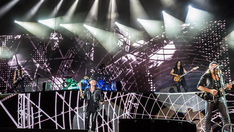 Scorpions live, 21.08.2015, Coburg
