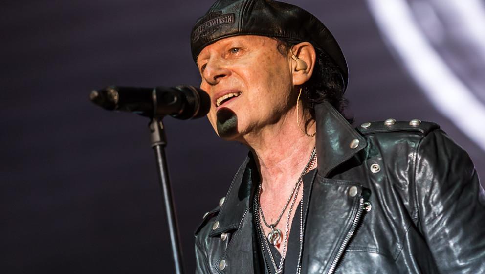 Klaus Meine von den Scorpions live, 21.08.2015, Coburg