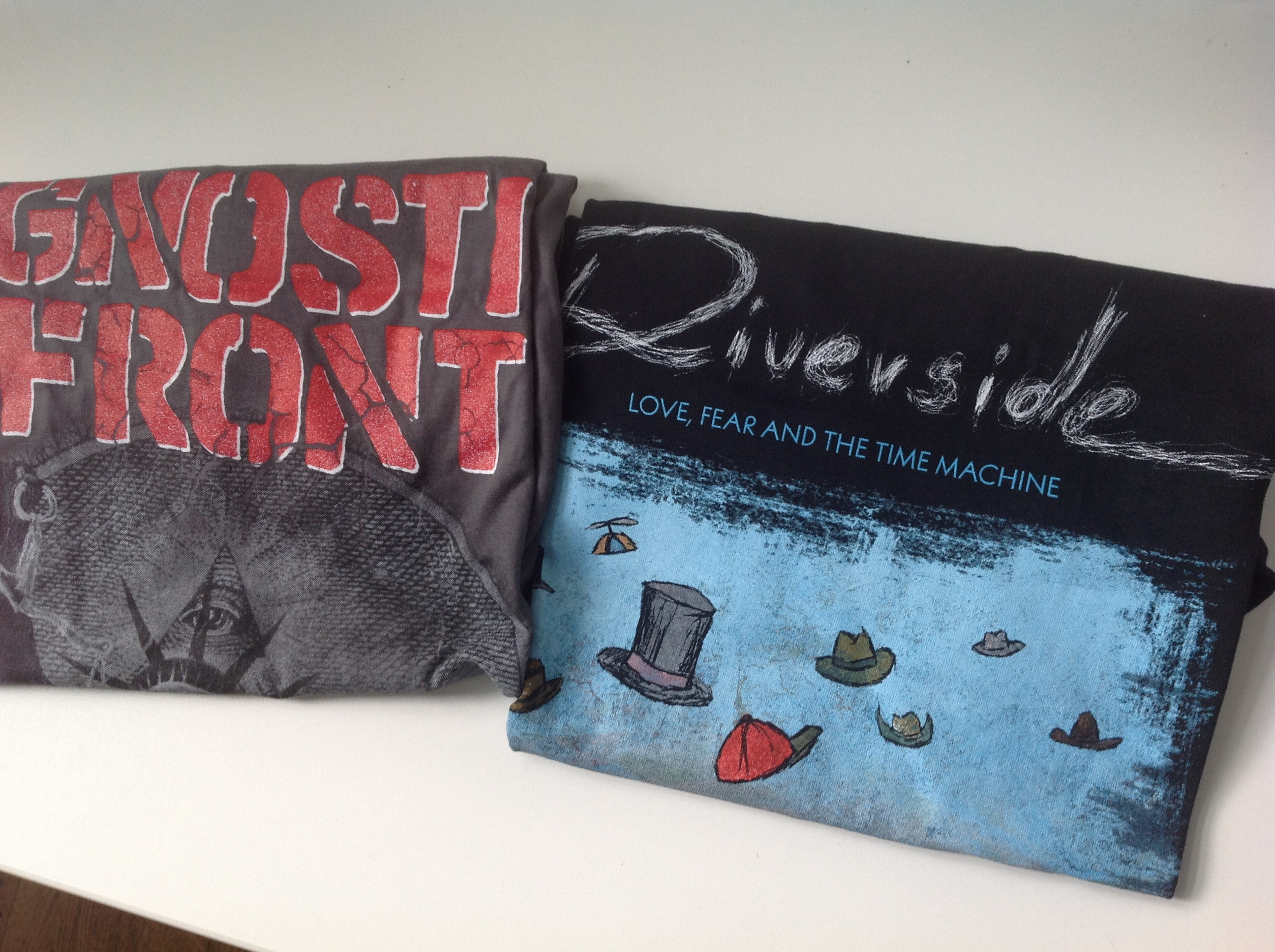 T-Shirt Verlosung Riverside / Agnostic Front