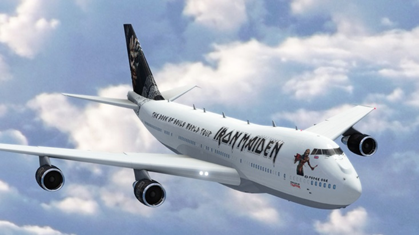 Iron Maiden: 'Ed Force One 2015