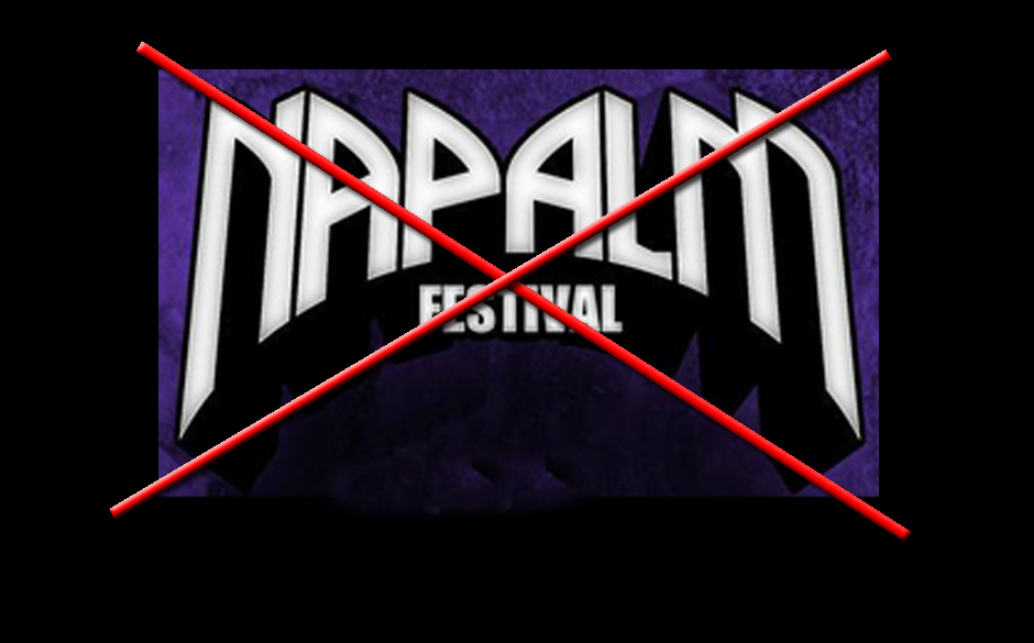 Napalm Festival Streichung