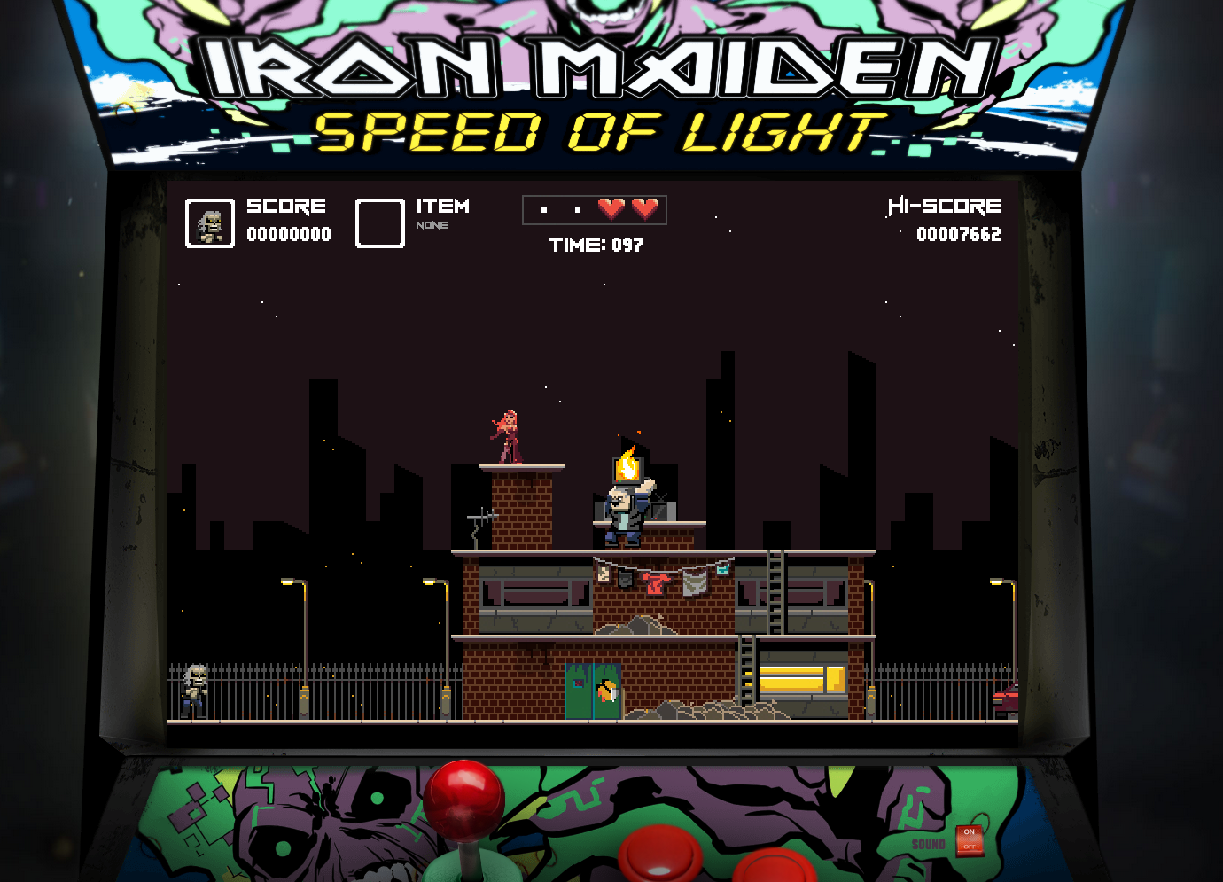 Iron Maiden SPEED OF LIGHT