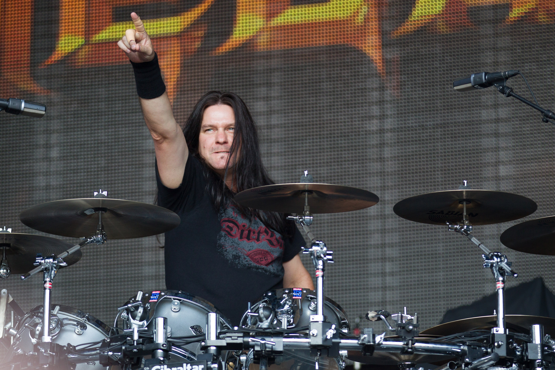 Der ehemalige Megadeth-Schlagzeuger Shawn Drover