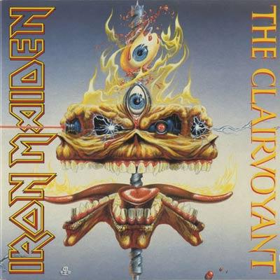 Iron Maiden THE CLAIRVOYANT (Single)