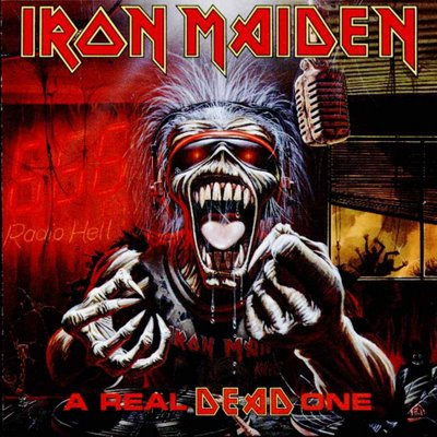 Iron Maiden A REAL DEAD ONE (Live) 1993