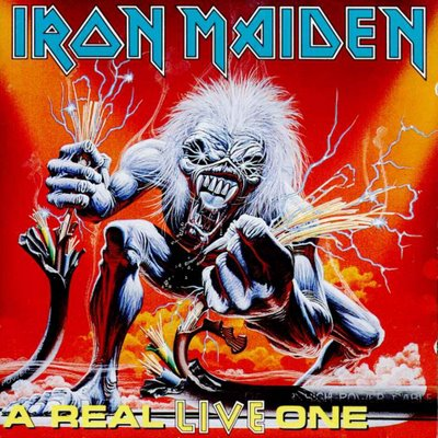 Iron Maiden A REAL LIVE ONE (Live) 1993