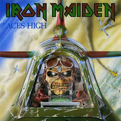 Iron Maiden ACES HIGH (Single) 1984