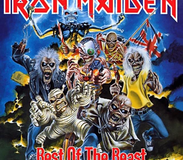 Iron Maiden BEST OF THE BEAST (Best Of) 1996
