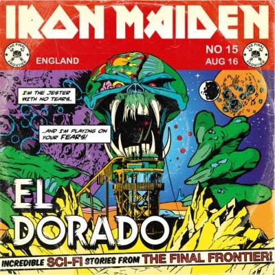 Iron Maiden EL DORADO (Single) 2010