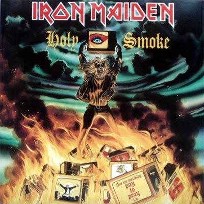 Iron Maiden HOLY SMOKE (Single) 1990