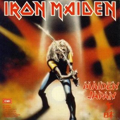 Iron Maiden MAIDEN JAPAN (Live-EP) 1981