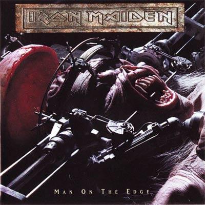 Iron Maiden MAN ON THE EDGE (Single) 1995