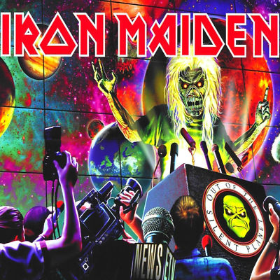 Iron Maiden OUT OF THE SILENT PLANET (Single) 2000