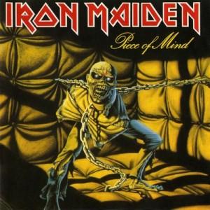 Iron Maiden PIECE OF MIND 1983