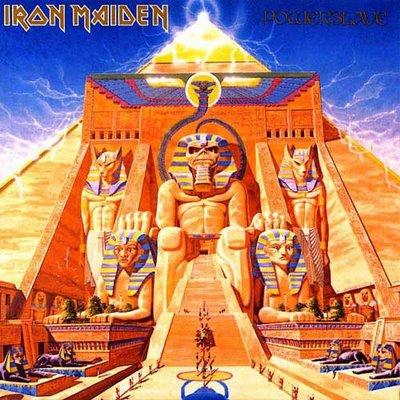 Iron Maiden POWERSLAVE 1984