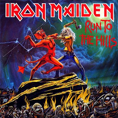 Iron Maiden RUN TO THE HILLS (Single) 1982