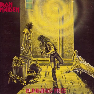 Iron Maiden RUNNING FREE (Single) 1980