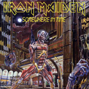 Iron Maiden SOMEWHERE IN TIME 1986
