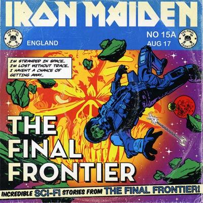 Iron Maiden THE FINAL FRONTIER (Single) 2010