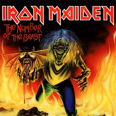 Iron Maiden THE NUMBER OF THE BEAST (Single) 1982